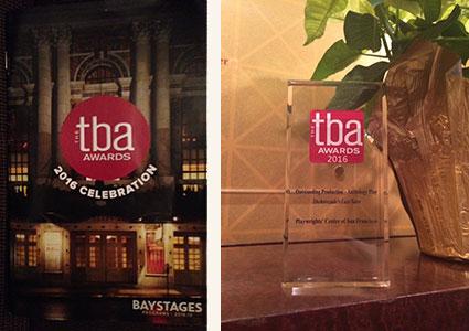 TBA Award 2016